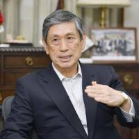 Constitution should enshrine civilian control of Self-Defense Forces: LDP vice president