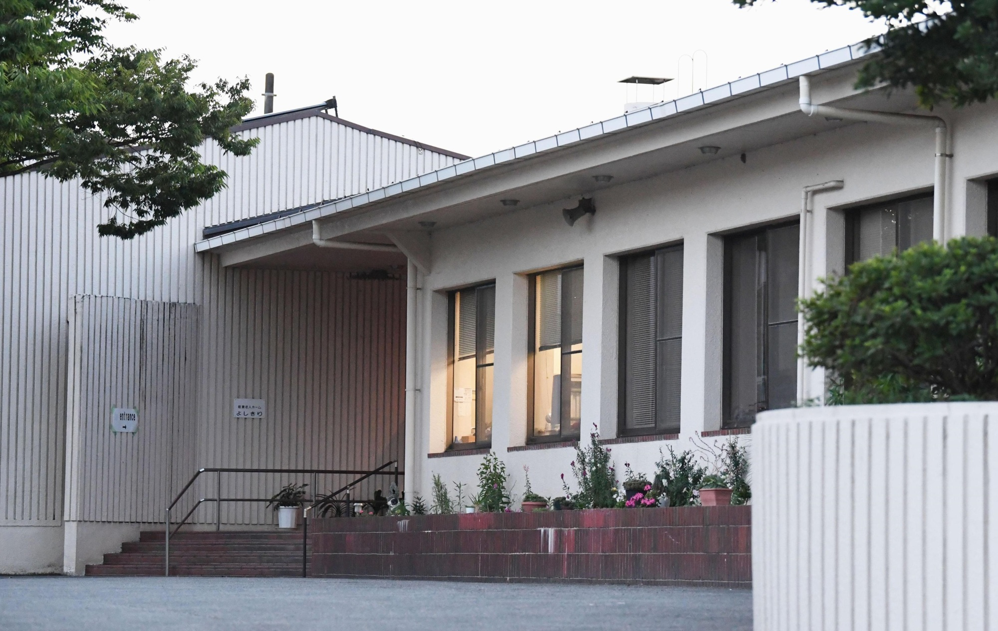 Aiko Hatano, who was arrested Tuesday on a charge of attempted murder, is suspected of drugging her colleagues at this nursing care facility in Inzai, Chiba Prefecture.   KYODO