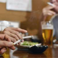 Indoor smoking ban bill stymied by LDP resistance ahead of Olympics