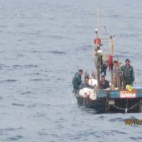 Mystery fleet driving Japanese boats from Sea of Japan fishing grounds