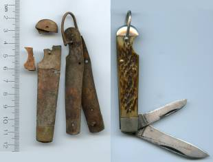 Nikumaroro atoll; a penknife purportedly identical to one Amelia Earhart had on board the Electra has been found on the atoll.