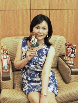 Kumi Ikeda is a 52-year-old collector who owns close to 1,000 Licca-chan dolls.