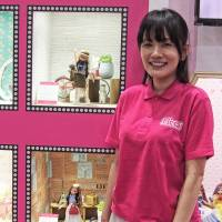 Licca Group Product Development Manager Ayumi Konishita poses for a photograph at the International Tokyo Toy Show in June. | MANAMI OKAZAKI