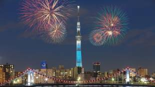 The 40th Sumida River Fireworks Festival and Aomori Nebuta Festival