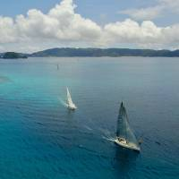 Speed and tradition at the Zamami Yacht Race