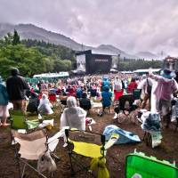 Pray for no rain: Check the forecast before leaving for Fuji Rock and pack your bags accordingly. | ALEXIS WUILLAUME