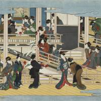 'Utamaro's Masterpieces Reunited: Fukagawa in the Snow and Cherry Blossoms at Yoshiwara — Together After 138 Years'