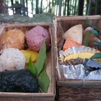 Nostalgia: The Kumano Lunchbox contains meharizushi (sushi rice wrapped in pickled mustard leaves), perhaps Japan's oldest form of sushi, and other ancient treats. | AMY CHAVEZ
