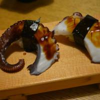 Now that's service: The octopus tentacles at Nanaezushi are massaged, making them soft instead of tough to eat. | J.J. O'DONOGHUE