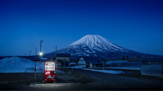 'Roadside Lights': Capturing Japan through its lonely vending machines