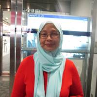 Zaiton Saidin, Travel agent, 53 (Malaysian): I know some people think of terrorism as being related to a certain religion, but in [Muslim-majority] Malaysia I've never felt at risk. I'm Muslim and have lots of friends — Chinese, Indian, English, Russian — it doesn't matter. I travel all over the world with my family; even with wearing a scarf, it's no problem. Everything depends on your heart. Misperceptions and miscommunication exist between Muslims and other religions, but I believe that in any religion there is good. In Japan, I just want to have fun.