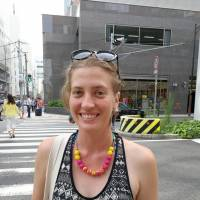Felicity Tillack, Filmographer, 31 (Australian): I've been in Japan for over 10 years now, and this is one of many times that a missile crisis with North Korea has been an issue. I have been worried in the past but I feel that this is just another example of North Korea's posturing. I feel that my family back home is quite concerned, but I'm more worried about domestic issues like the continuing nuclear debate in Japan and the cleanup of the Fukushima Daiichi nuclear reactors.