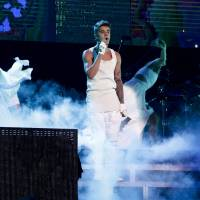 Singer Justin Bieber, shown performing in Beijing in 2013, is no longer welcome to perform in China because of his 'bad behavior,' Beijing's Municipal Bureau of Culture announced last week. The Canadian pop star angered many Chinese when he visited Yasukuni Shrine in 2014. | AP