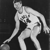 University of Mississippi sophomore star Johnny Neumann averaged 40.1 points per game, No. 1 among NCAA Division I players in the 1970-71 season. | OLE MISS ATHLETICS