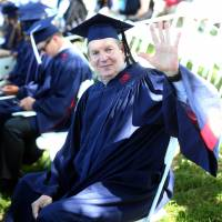 John Neumann graduates from the University of Mississippi in May 2016.   OLE MISS ATHLETICS
