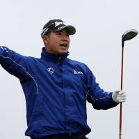 Matsuyama four shots back at Irish Open