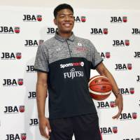 Japanese phenom and Gonzaga University player Rui Hachimura, seen in this file photo from May, had led the FIBA Under-19 World Cup in scoring. | KAZ NAGATSUKA