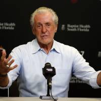 Riley says Heat's growth next season will be up to players