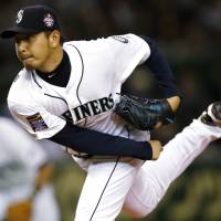 Seattle's Hisashi Iwakuma went on the disabled list on May 10 and is not yet ready to return to action. | REUTERS