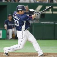 Nakamura overshadows Otani's return as Lions beat Fighters