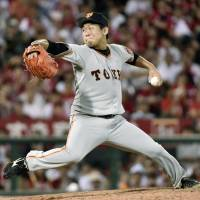 Taguchi pitches Giants to rare victory over Carp
