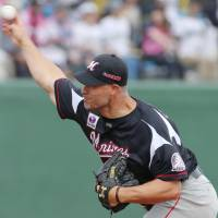 Marines starter Standridge earns first victory since April 12