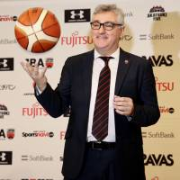 New coach Lamas wants Japan to play fast-breaking style