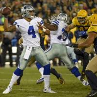 Dallas Cowboys quarterback Dak Prescott rose to prominence last season, bringing an end to the Tony Romo era. | REUTERS