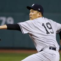 Tanaka takes loss as Red Sox shut out Yankees