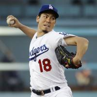 Maeda's solid outing helps Dodgers top Twins