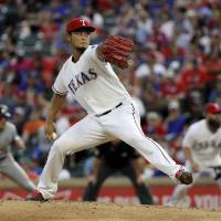 Marlins hammer Darvish in rout