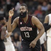Harden signs extension with Rockets to secure richest deal in NBA history