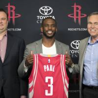 Paul hopes his teaming up with Harden fuels Rockets