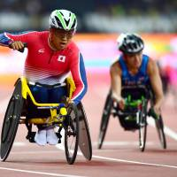 Sato sets meet record in 400-meter race to capture second gold medal