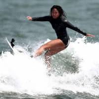 Surfer Kawai targeting Olympic gold in 2020