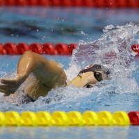 Ledecky bags third title with 400-meter freestyle win at nationals