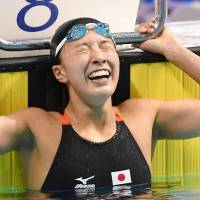 Ohashi blazes to silver in 200 IM in record time