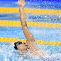 Irie misses out on backstroke medal at worlds