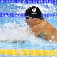 Japan nets two breaststroke medals at world championships