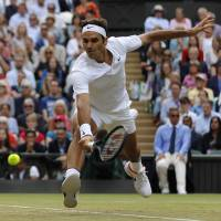 Federer into final for 11th time