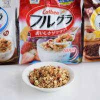 Calbee Inc.'s granola cereals have proved a time-saver for a growing class of Japanese working mothers. | BLOOMBERG