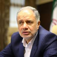 Ali Kardor, managing director of the National Iranian Oil Co. and deputy oil minister of Iran, is interviewed on Sunday. | KYODO