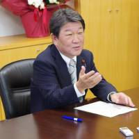 Economic revitalization chief Motegi to tackle education, labor reforms