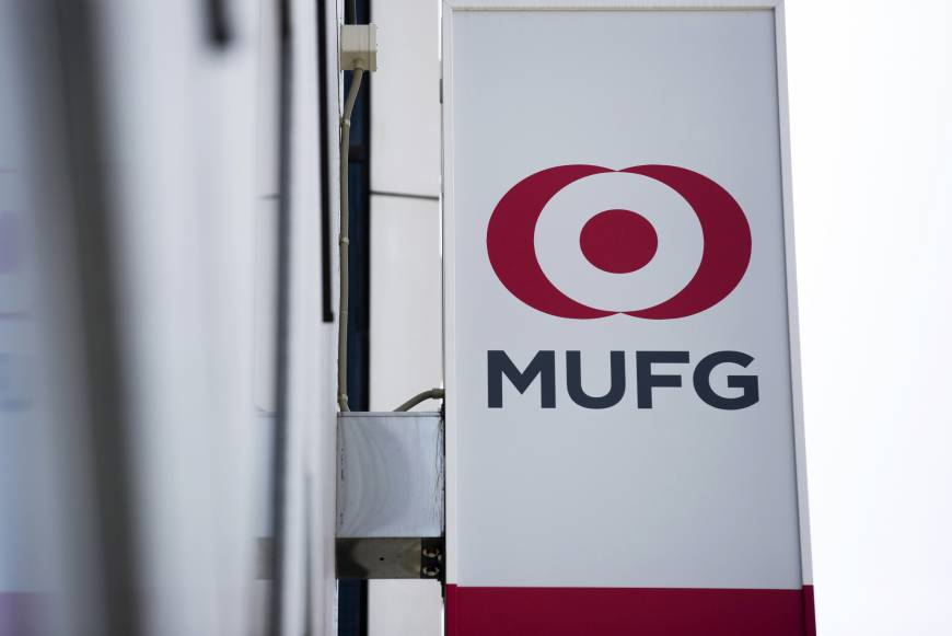 Mitsubishi UFJ Financial Group Inc. is set to become the first Japanese lender to start full banking operations in Saudi Arabia. | BLOOMBERG