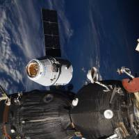 SpaceX Dragon delivers scientific bounty, and ice cream, to space station