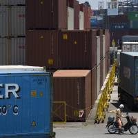 Japan's current account surplus sets 10-year high in first half of 2017