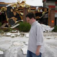This property condemned: Tulsa twister knocks out 10 businesses