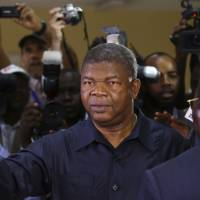 Angolan ruling party's Lourenco to succeed long-ruling dos Santos