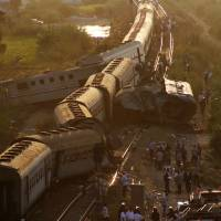 Train collision in northern Egypt kills 43, injures more than 100
