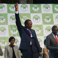 Kenyatta declared winner of disputed Kenyan presidential vote